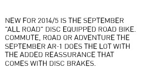 September AR-1 Disc